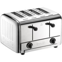 Dualit 4 bread pop up toaster dcp4