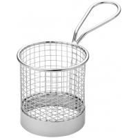 Creative table round wire service basket 7 5cm 3