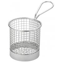 Creative table round wire service basket 9cm 3 5