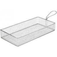 Creative table rectangular wire service basket 21 5x10 5cm 8 5x4