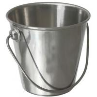 Genware stainless steel premium serving bucket 7 dia x6 h cm 15cl