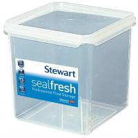 Sealfresh square storage container 1 8l 13 5x13 5x14cm