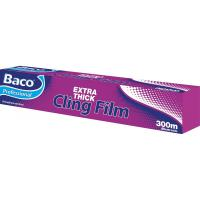 Baco extra thick cling film cutterbox 45cmx300m