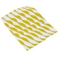 Yellow twist burger wrap 12 5x10 32x25cm