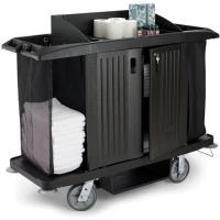Assembled housekeeping cart