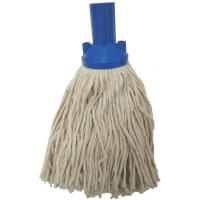 Exel push fit mop head 200g no 12 yarn blue