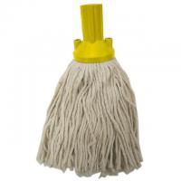 Excel push fit mopping system yellow yarn mophead no 12 200g