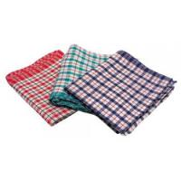 Maxima tea towel checked pattern
