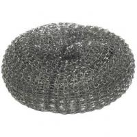 Galvanised pot scourer