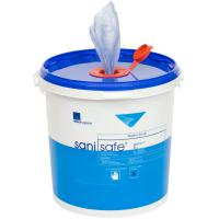 Sanisafe sanitising surface wipes 23x20cm