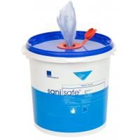 Sanisafe sanitising surface wipes 20x20cm