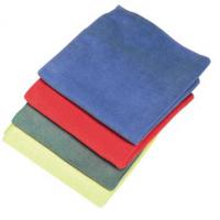 Premium microfibre cloths blue