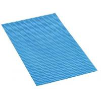 Hydromax wavyline medium weight cloth 50x30cm blue