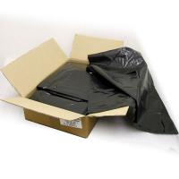 Extra medium duty recycled black refuse sack