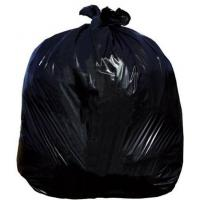 Jangro black refuse sack medium duty 18x29x38