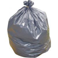 Large black wheelie bin liner medium duty 36x46x54