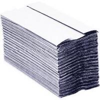 Maxima green 2 ply c fold hand towel white