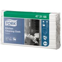 Tork 1 ply kitchen cleaning cloth white