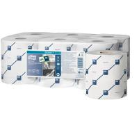Tork reflex wiping paper plus centerfeed roll 2 ply white