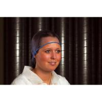 Hairnet metal free blue medium