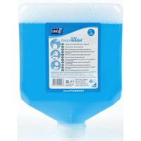 Deb stoko refresh azure foam gentle foam hand wash cartridge 2l