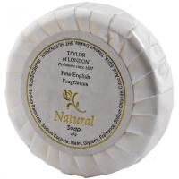 Natural tissue pleat soap