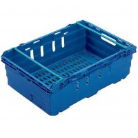 Blue stack nest container basket