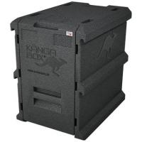 Genware end loading thermo kanga box gn 1 1 100 litre 63 5 l x46 5 w x66 h cm