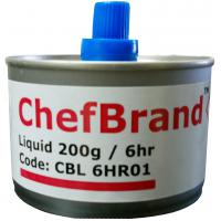 Chefbrand chafing fuel liquid 6 hour