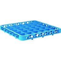 36 compartment polypropylene rack extender blue 50x50x4 5cm