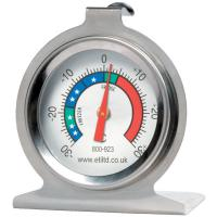 Fridge freezer dial thermometer