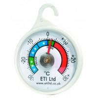 Plastic fridge freezer dial type thermometer