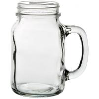 Tennessee handled jam jar glass 63cl 22oz jeremiah weed style