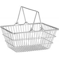 Mini wire shopping basket 7x5 25 18x13cm