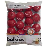 Bolsius wine red floating candles