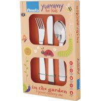 Amefa in the garden children s 3 piece cutlery set