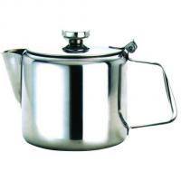 Genware stainless steel tea pot 12oz 34cl