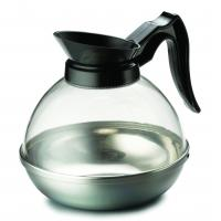 Coffee pot decanter black handle