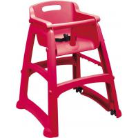 Plastic high chair red